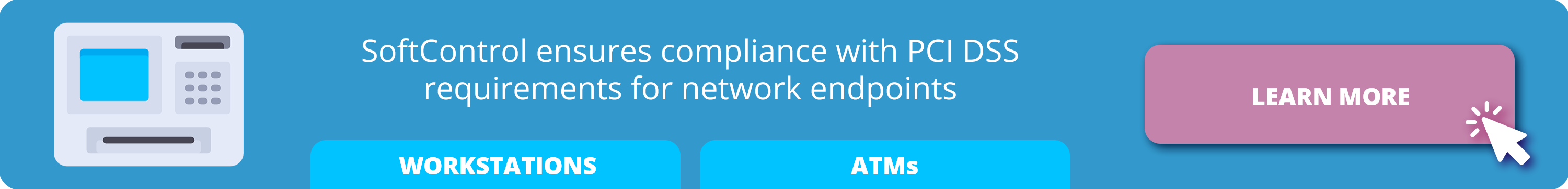 SoftControl ensures compliance with PCI DSS requirements for network endpoints